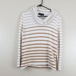 Jones New York long sleeve scoop sweater